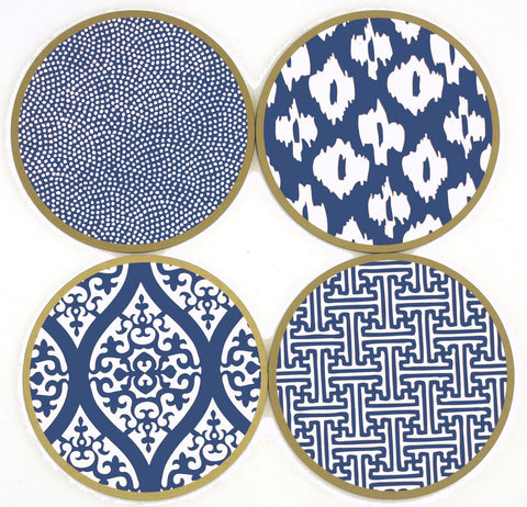 Inspired Coasters :: assorted colors + designs