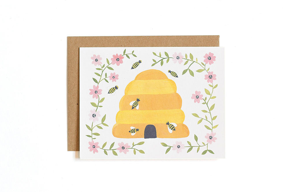 Farm to Table Bees Card