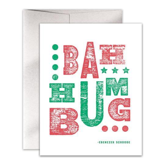 Bah Humbug Holiday Card Box Set