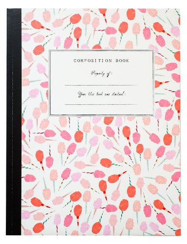 Composition Book Cotton Candy