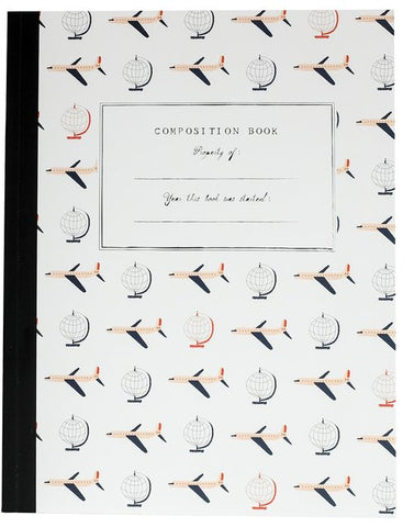Airplanes Composition Book