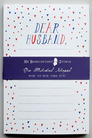 Dear Husband Notepad