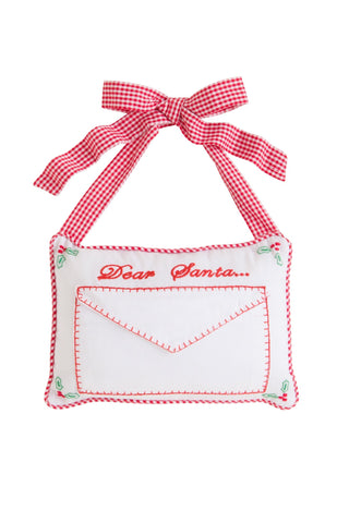Dear Santa Door Pillow