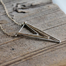 Deepest Depths Necklace, Sterling Silver