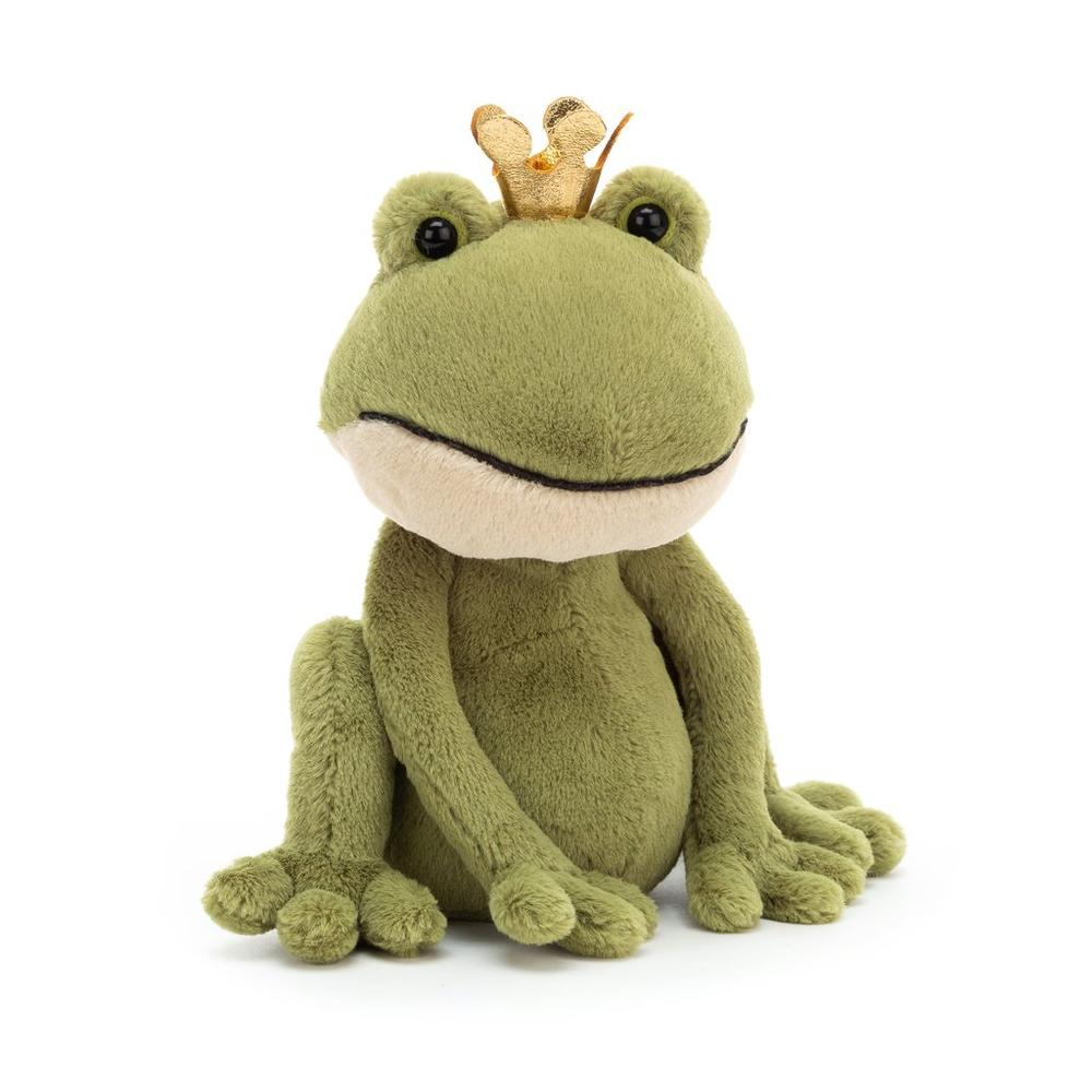 Felipe Frog Prince Small Stuffed Animal
