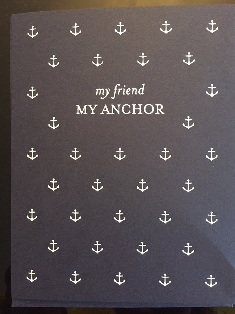 My Anchor My Friend