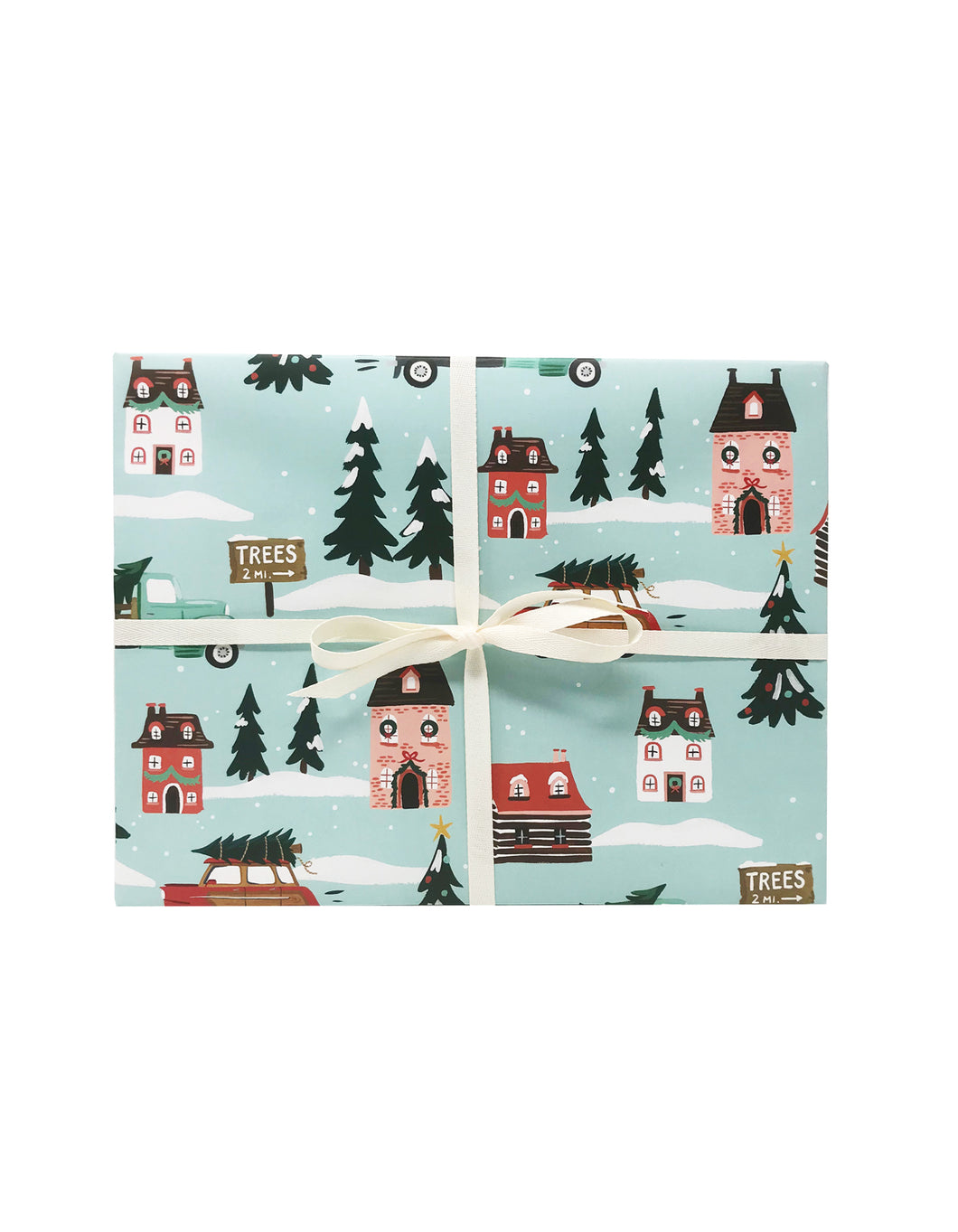 Tree Toters Gift Wrap
