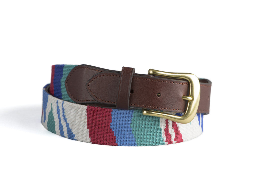 Needlepoint Belt :: assorted designs