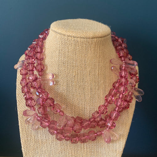 Amethyst Crystallized Morgan Necklace
