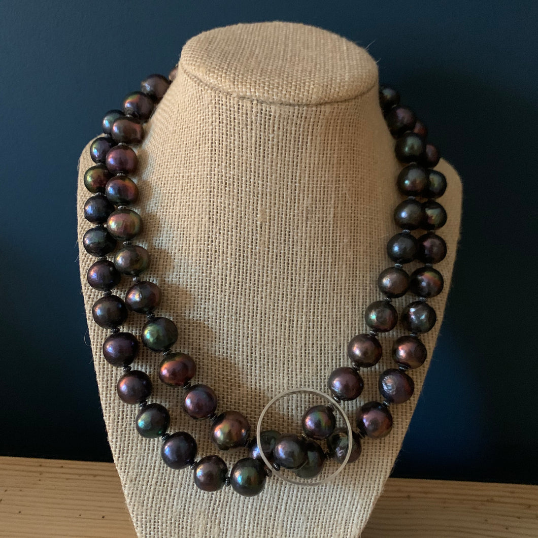 Fresh Water Pearl Statement Necklace