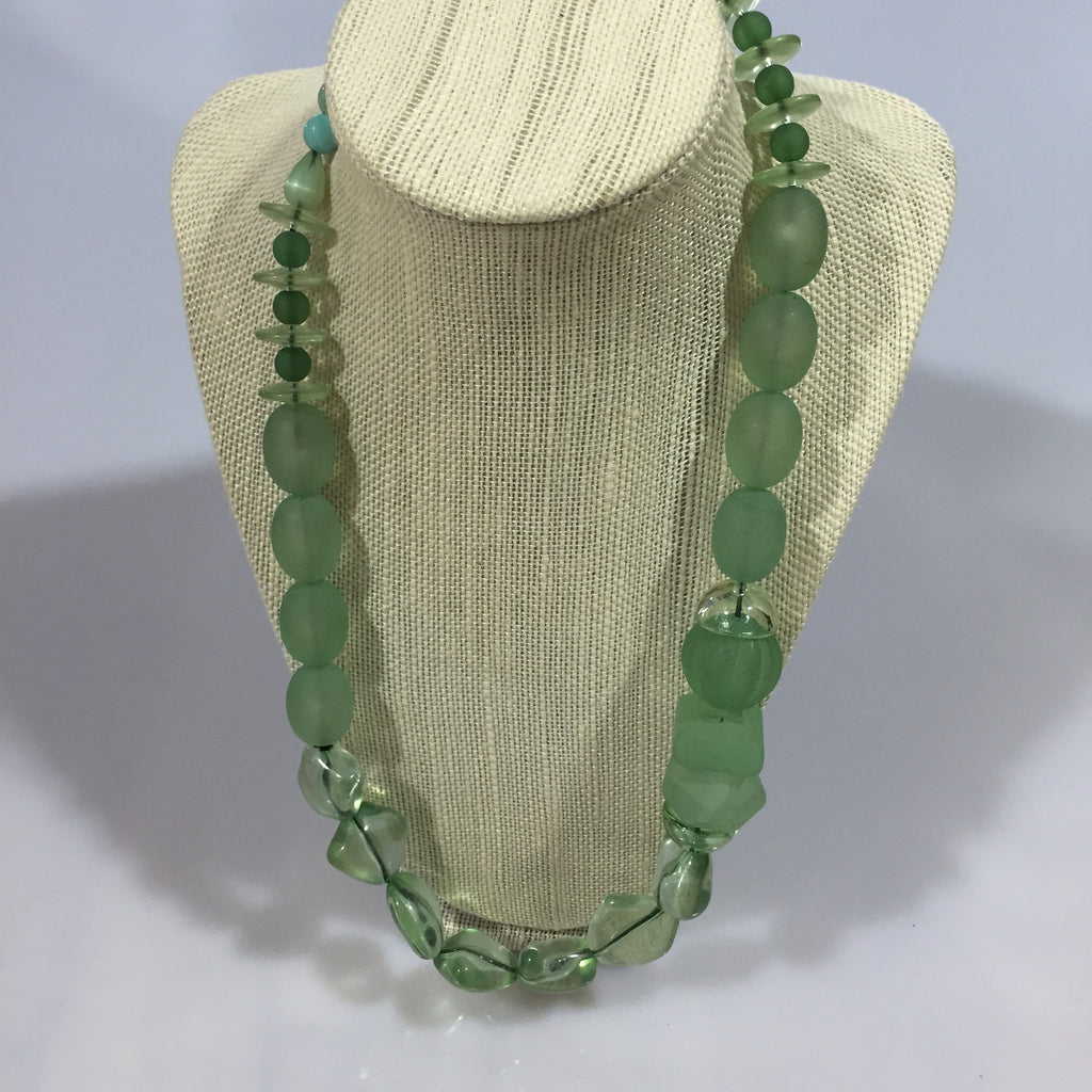 One of a Kind Lucite Necklaces :: assorted styles