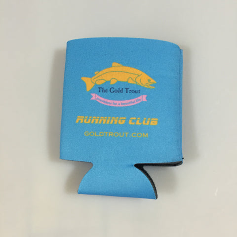 Gold Trout Running Club Beverage Holder