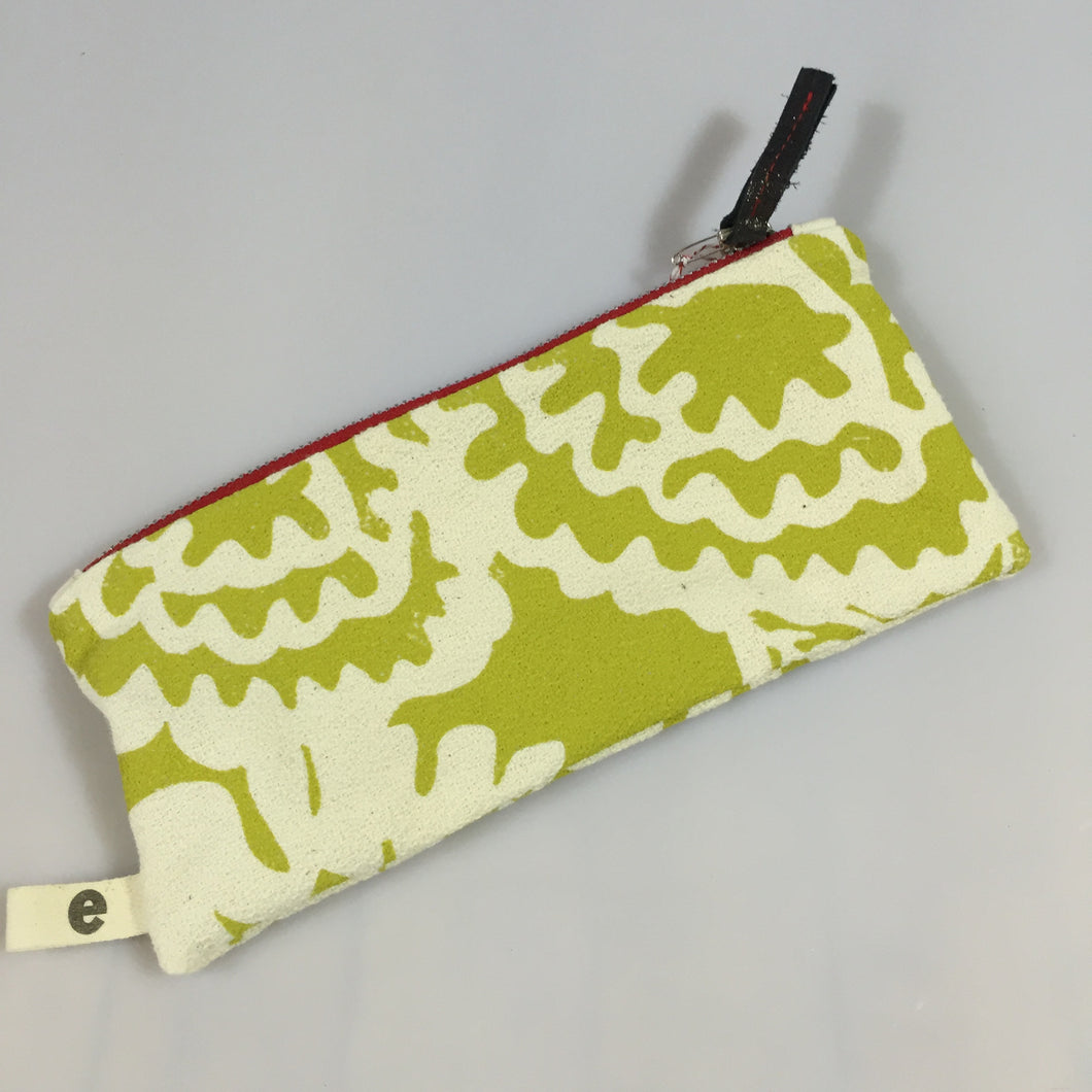 Zipper Pouches :: assorted size, style + color
