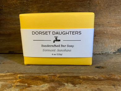Vermont Sunshine Bar Soap. Limited Edition.