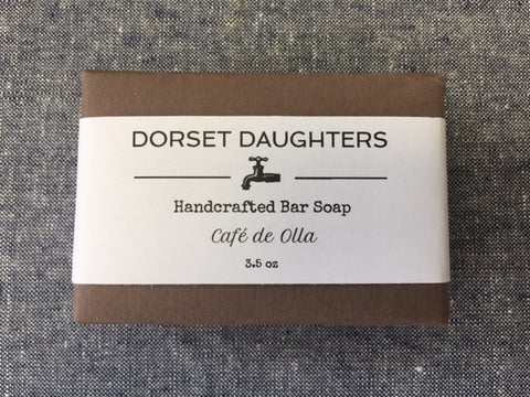 Cafe d'olle Bar Soap. Limited Edition.