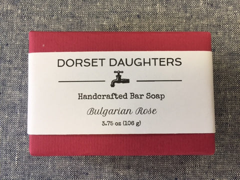 Bulgarian Rose Bar Soap. Limited Edition.