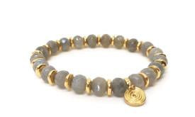 Faceted Labradorite Sparkle Bracelet