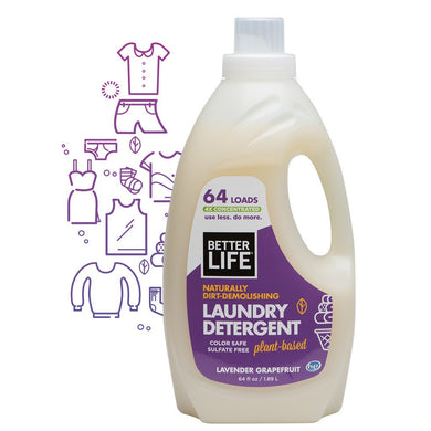 Naturally Dirt-Demolishing Laundry Detergent