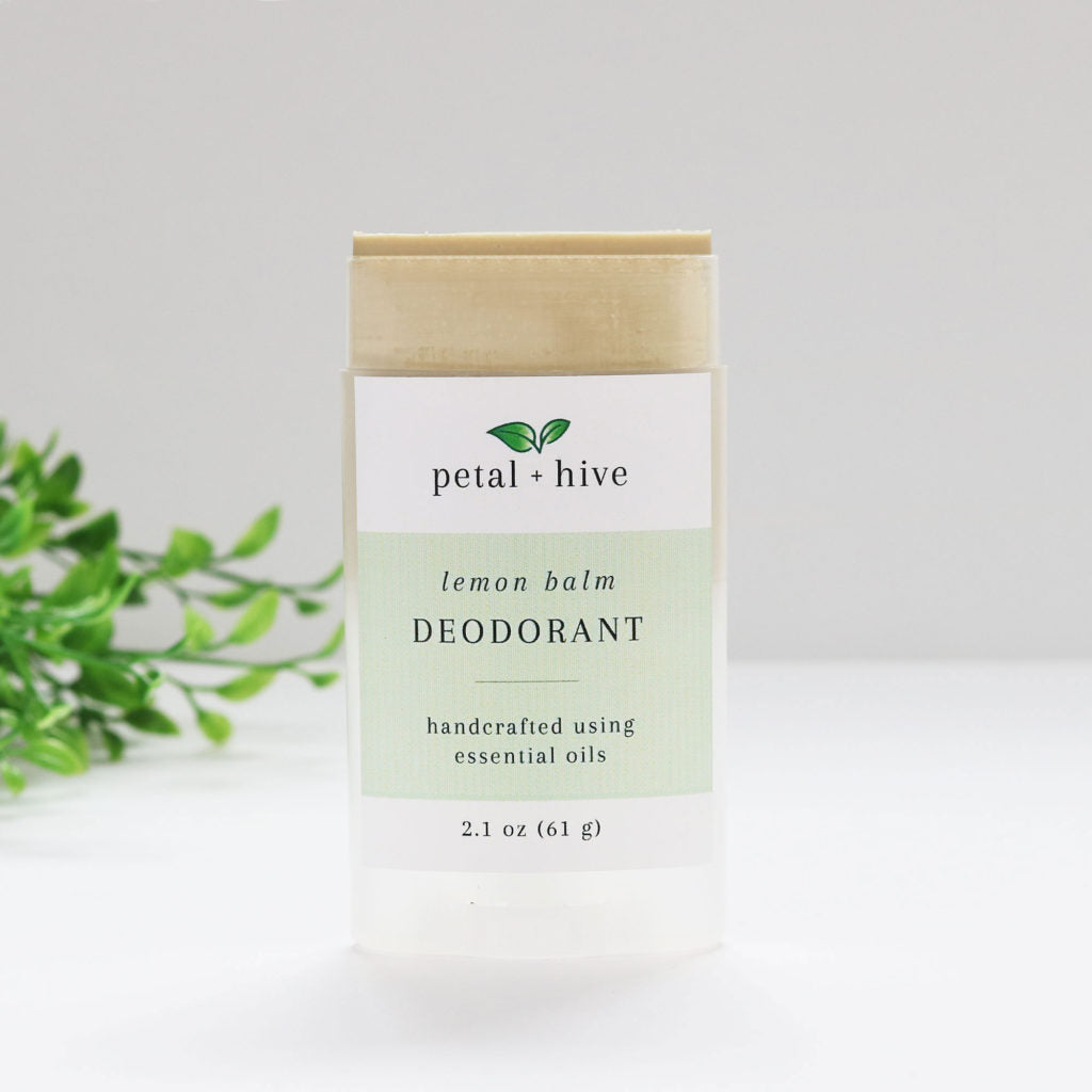 Lemon Balm Natural Deodorant