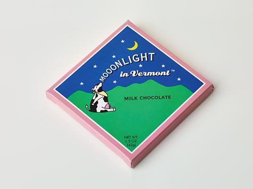 Moonlight in Vermont Chocolate Bar - Milk Chocolate