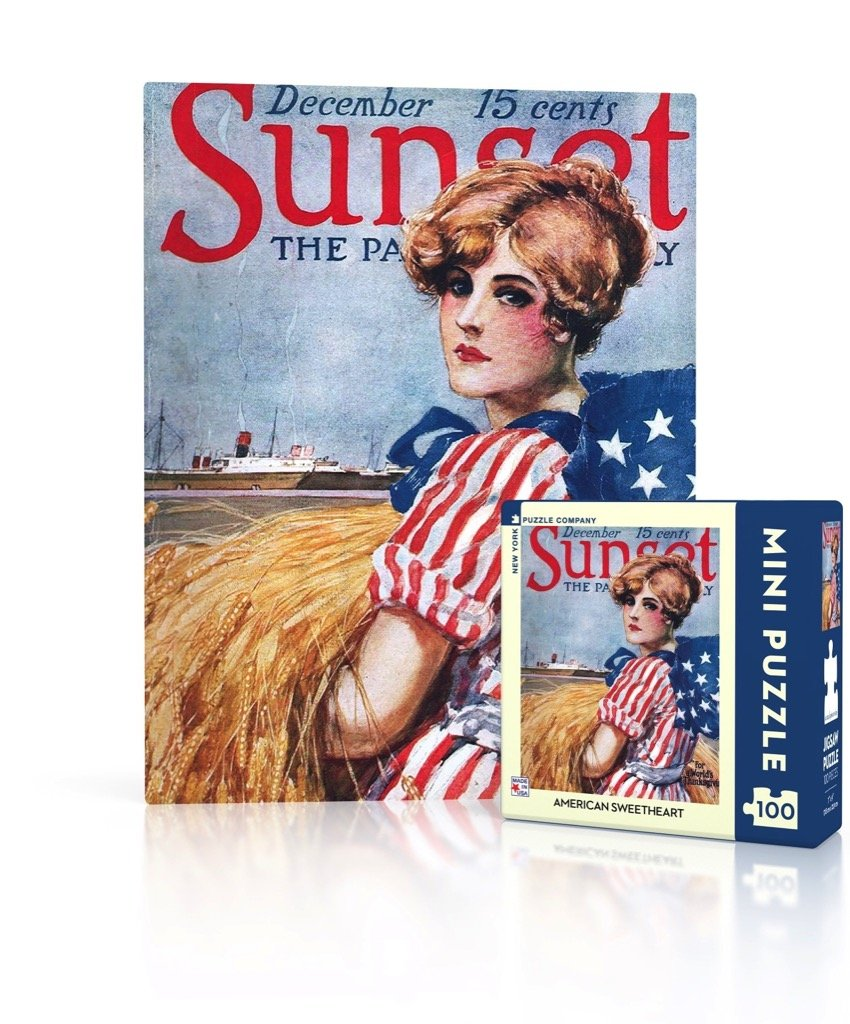 American Sweetheart Mini Puzzle