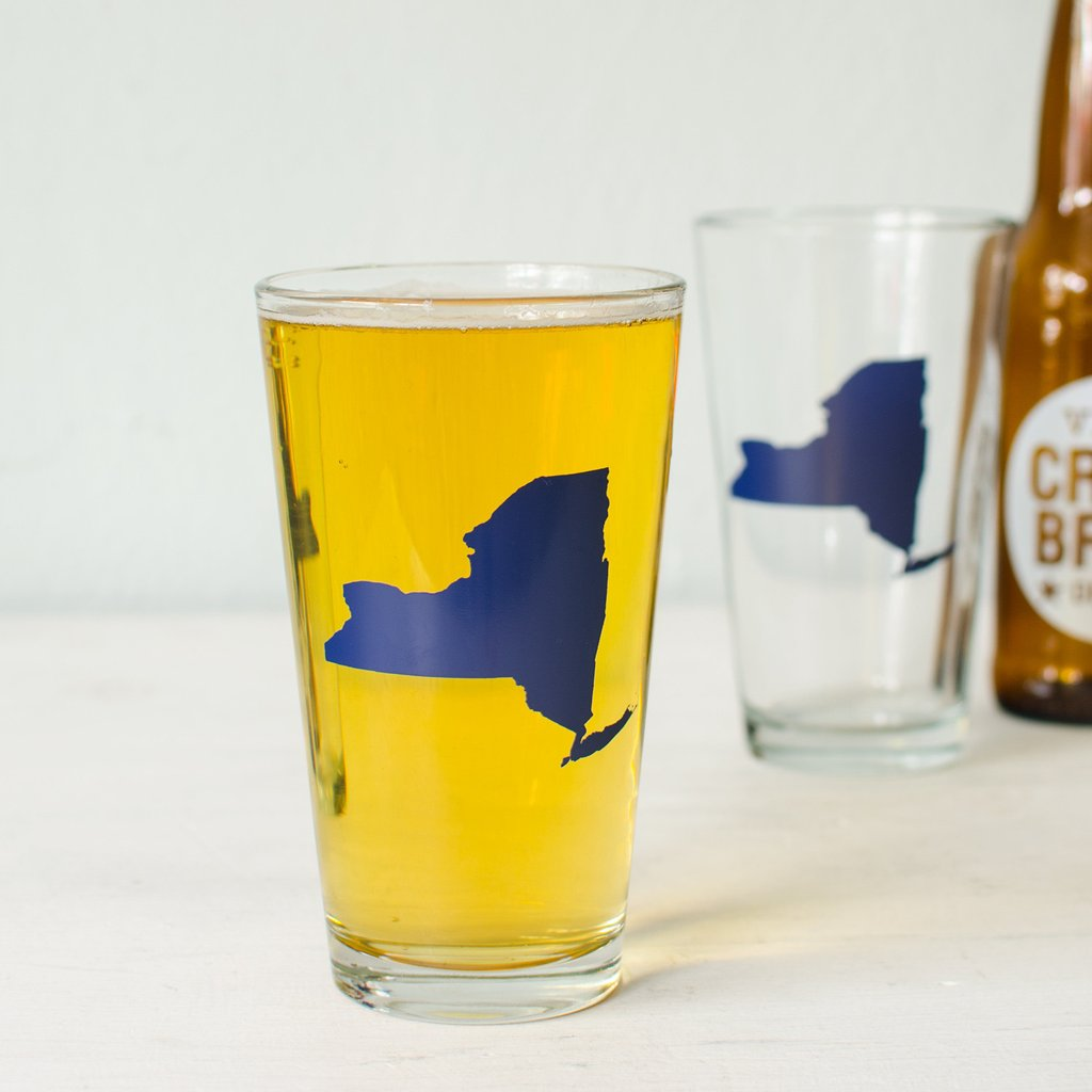 New York State of Mind Pint Glass