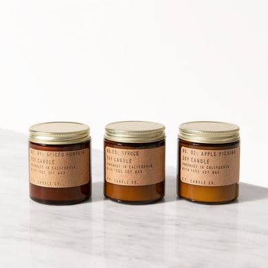 P.F. Candle Co. - Seasonal Classics Candle Trio Gift Set