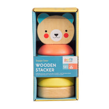 Wooden Bear Stacking Toy