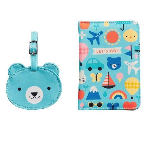 Baby Passport Cover and Luggage Tag