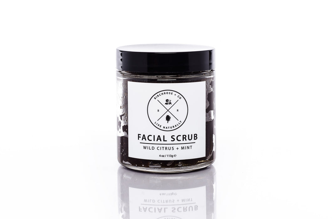 Facial Scrub, Wild Citrus + Mint