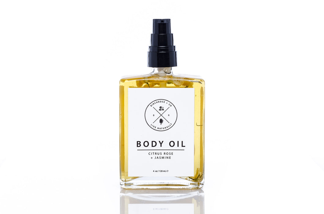 Body Oil, Citrus Rose + Jasmine