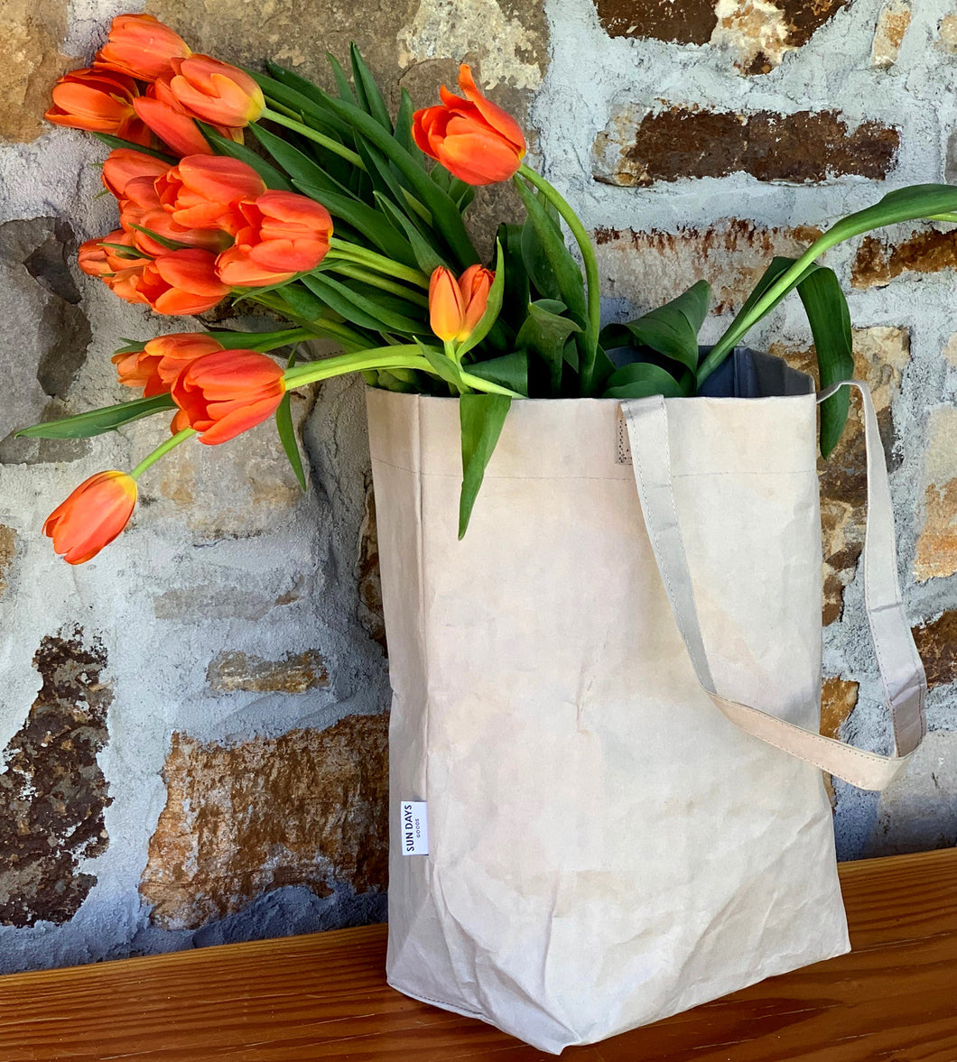 100%  Reusable, Biodegradable, Sustainable Market Bag - Choice of Color