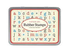 Alphabet Lower Case Rubber Stamp Set