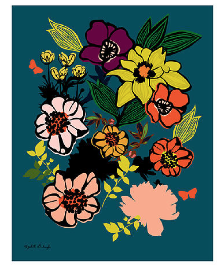 Full Bloom Print :: framed or unframed