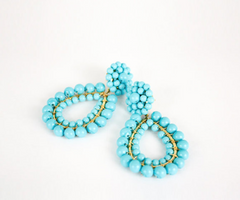 Margot Earrings, Clip On :: assorted colors