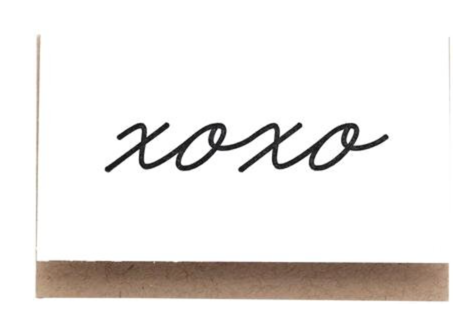 Mini Notes :: XOXO or hello