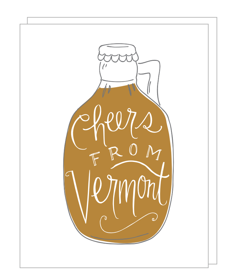 Cheers from Vermont Card