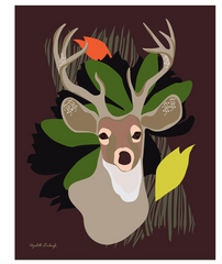 Buck Print :: framed or unframed