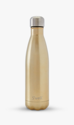 Hot + Cold Water Bottle, Sparkling Champagne