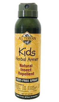 All Terrain Kid's Herbal Armor Deet-Free Natural Insect Repellent Continuous Spray, 3-Ounce Bottle