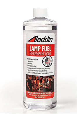 Aladdin No Kerosene Lamp Fuel
