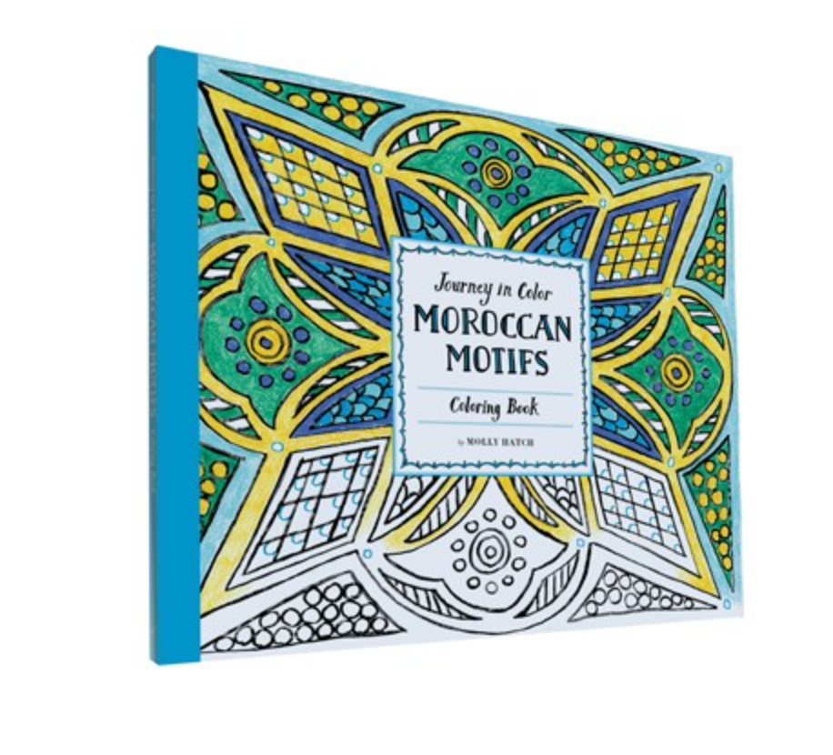 Journey in Color: Moroccan Motifs