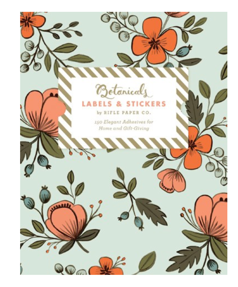 Botanical Labels & Stickers: 150 Elegant Adhesives for Home and Gift-Giving
