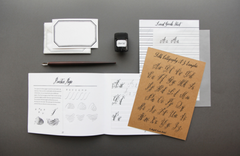 Belle Calligraphy Kit: Materials and Instruction for Modern Calligraphy