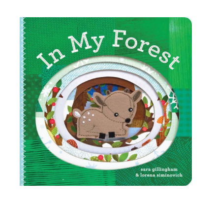 In My Forest: Finger Puppet Book