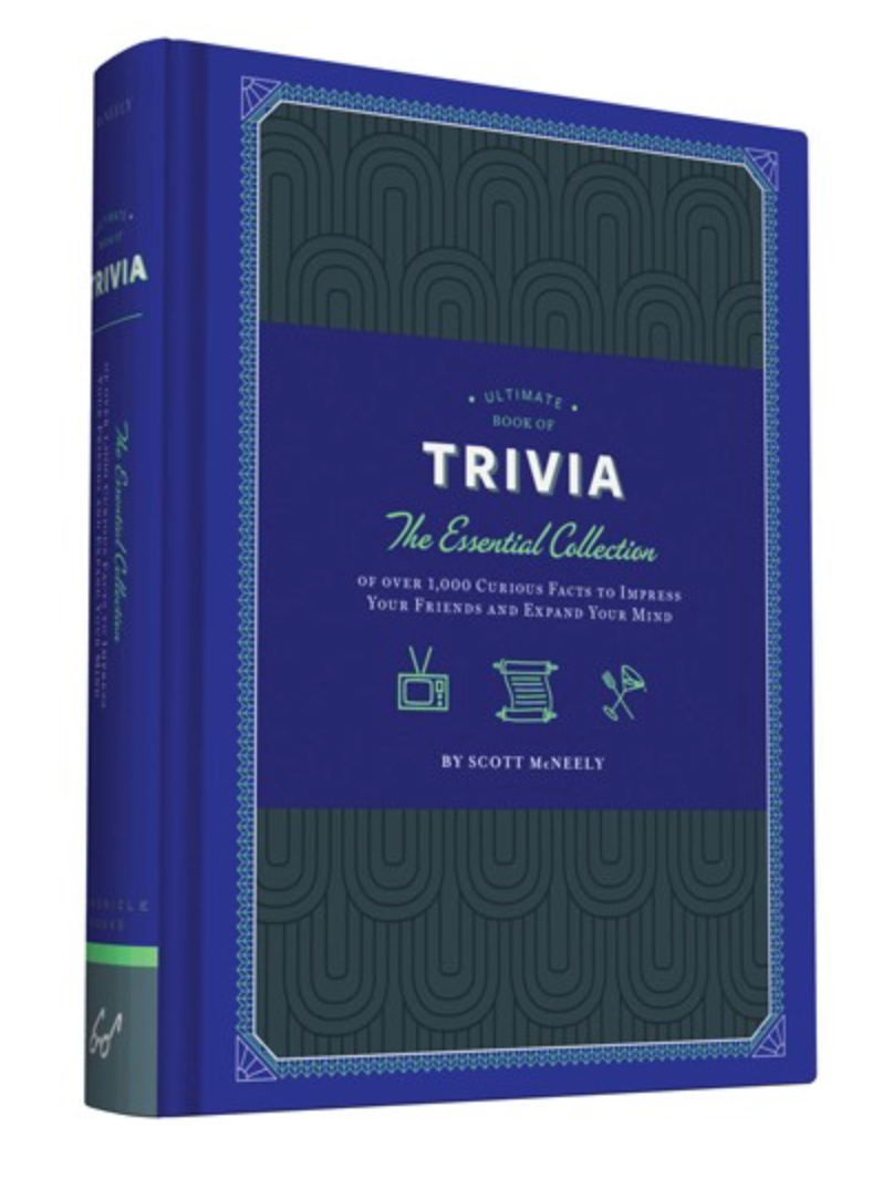 The Ultimate Book of Trivia: The Essential Collection of over 1,000 Curious Facts to Impress Your Friends and Expand Your Mind