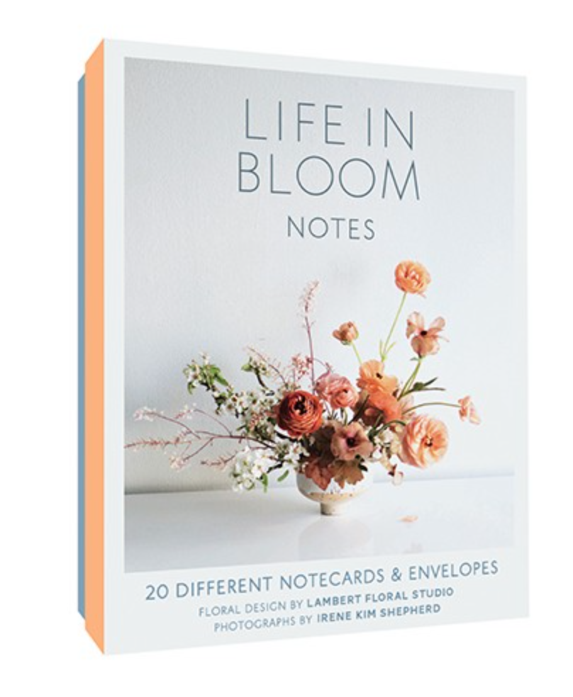 Life in Bloom Notecards: 20 Different Cards + Envelopes