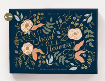 Colette Social Stationery Set