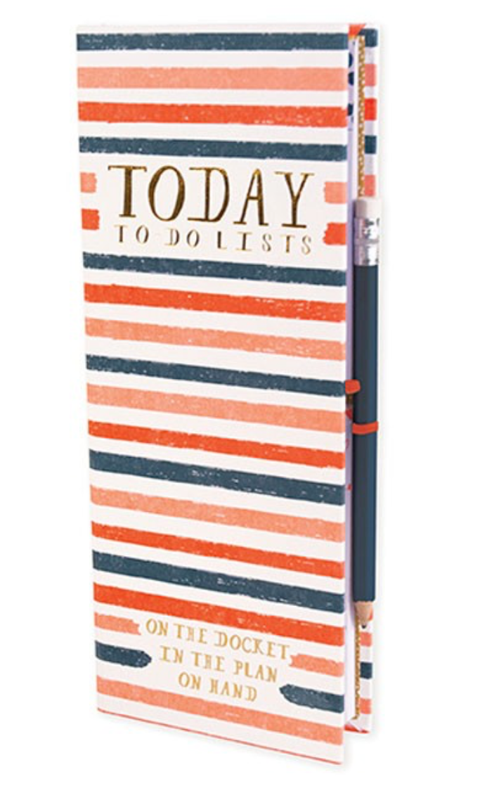 Mr. Boddington's Today: To-Do Lists Desk Ledger