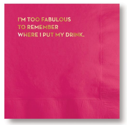 Fabulous Cocktail Napkins